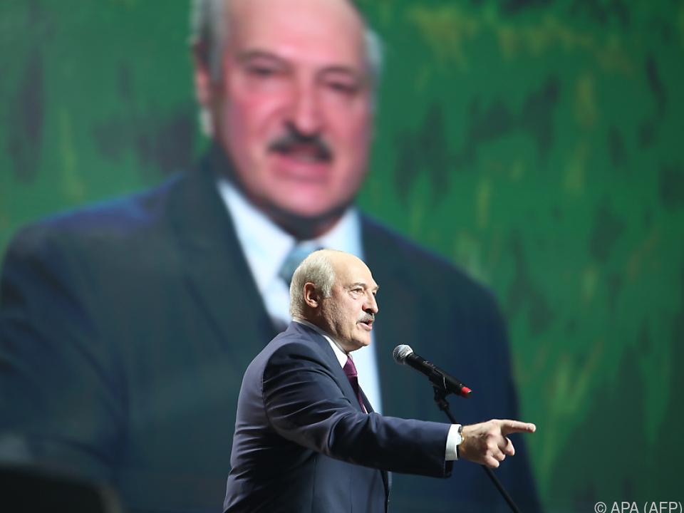 Lukaschenko selbst nicht von Sanktionen betroffen