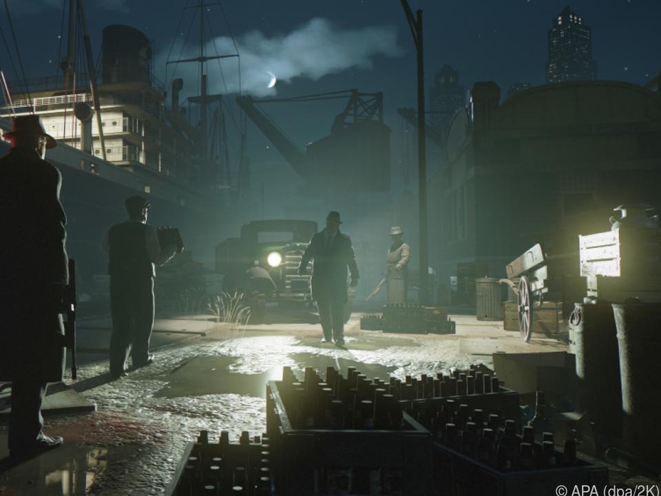 Das Spiel lässt kaum ein Klischee klassischer Gangster-Geschichten aus