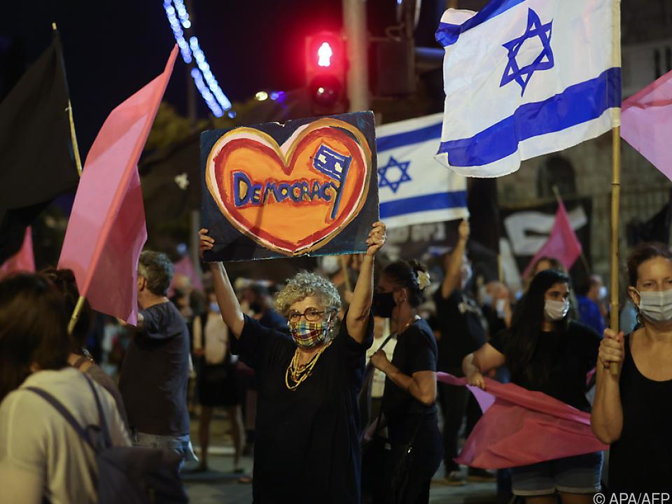 Mehrere Demonstrationen in israelischen Städten