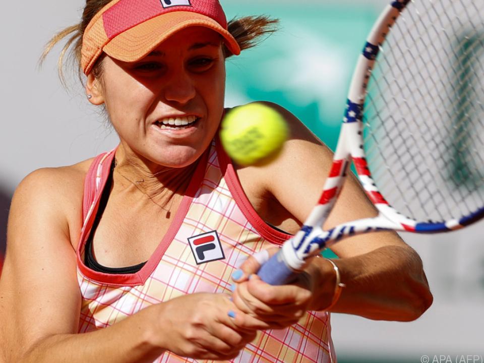 Melburne-Siegerin Kenin im Paris-Halbfinale
