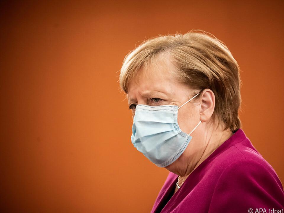 Merkel mit Ergebnis unzufrieden