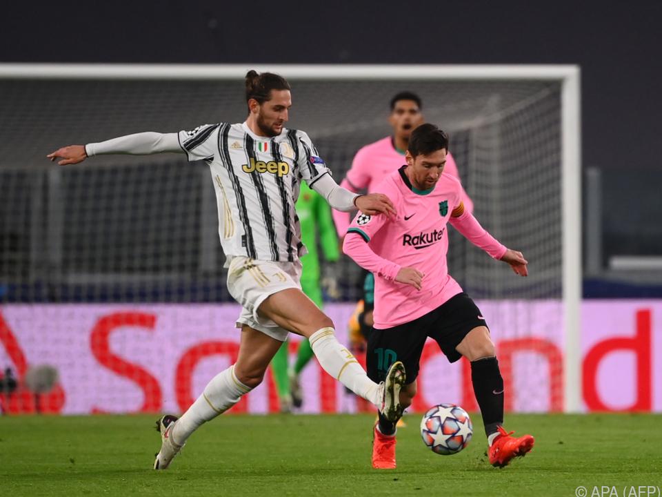 Messi in Champions League gegen Juve in Spiellaune