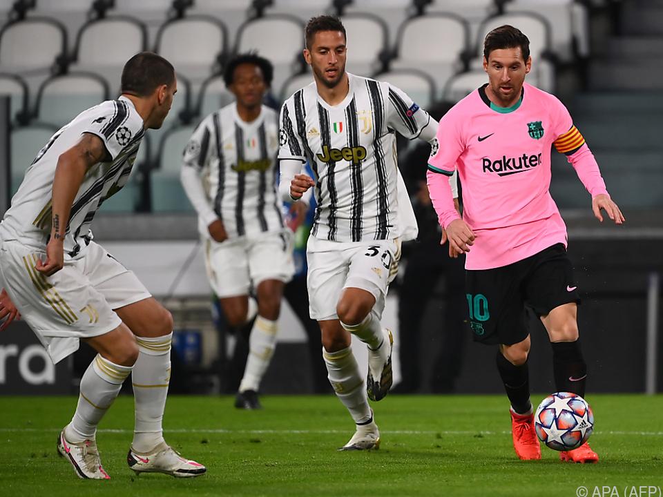 Messi trug sich per Elfer in die Schützenliste ein