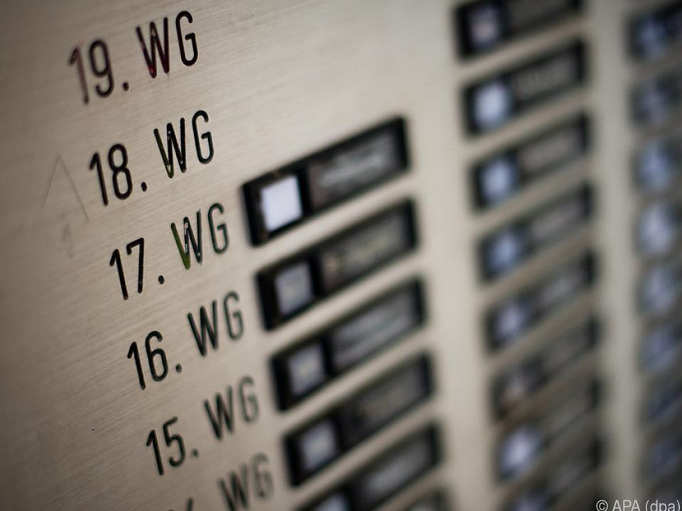 Mietwohnungen sind bei weitem nicht das Höchste der Gefühle glocke kondominium klingel tür