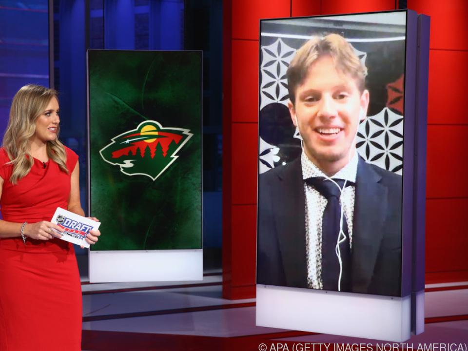 Minnesota Wild wählte Rossi im NHL-Draft an Nr. 9