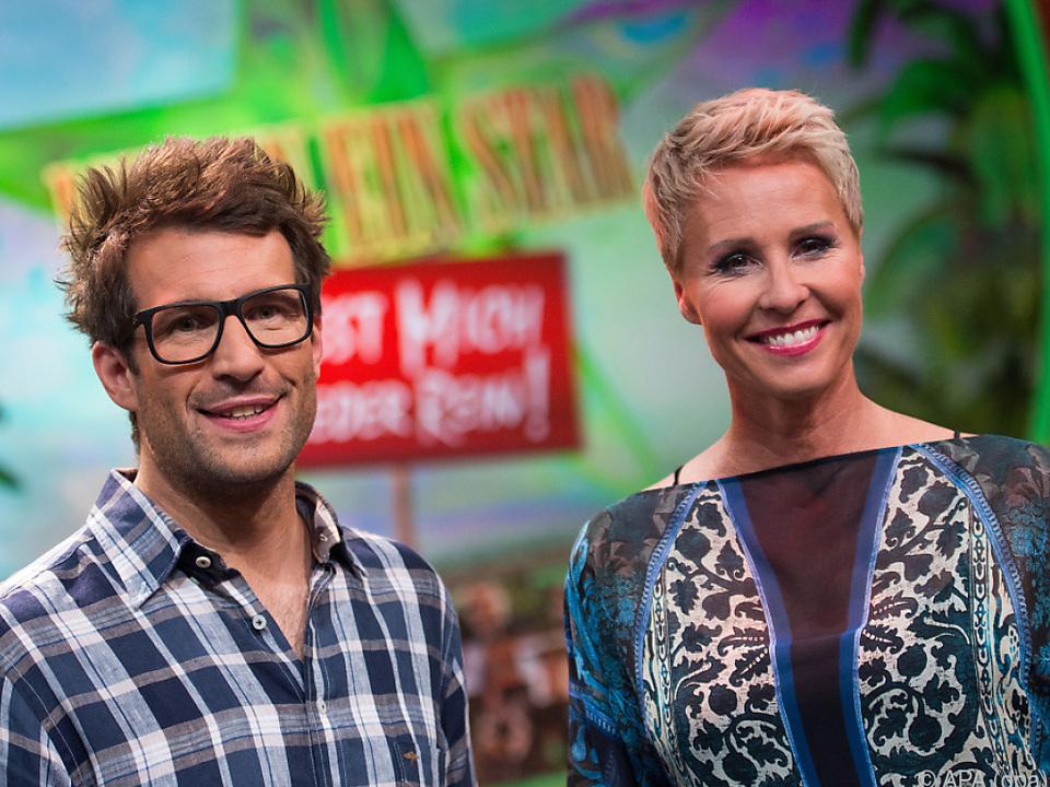 Moderatoren Sonja Zietlow und Daniel Hartwig