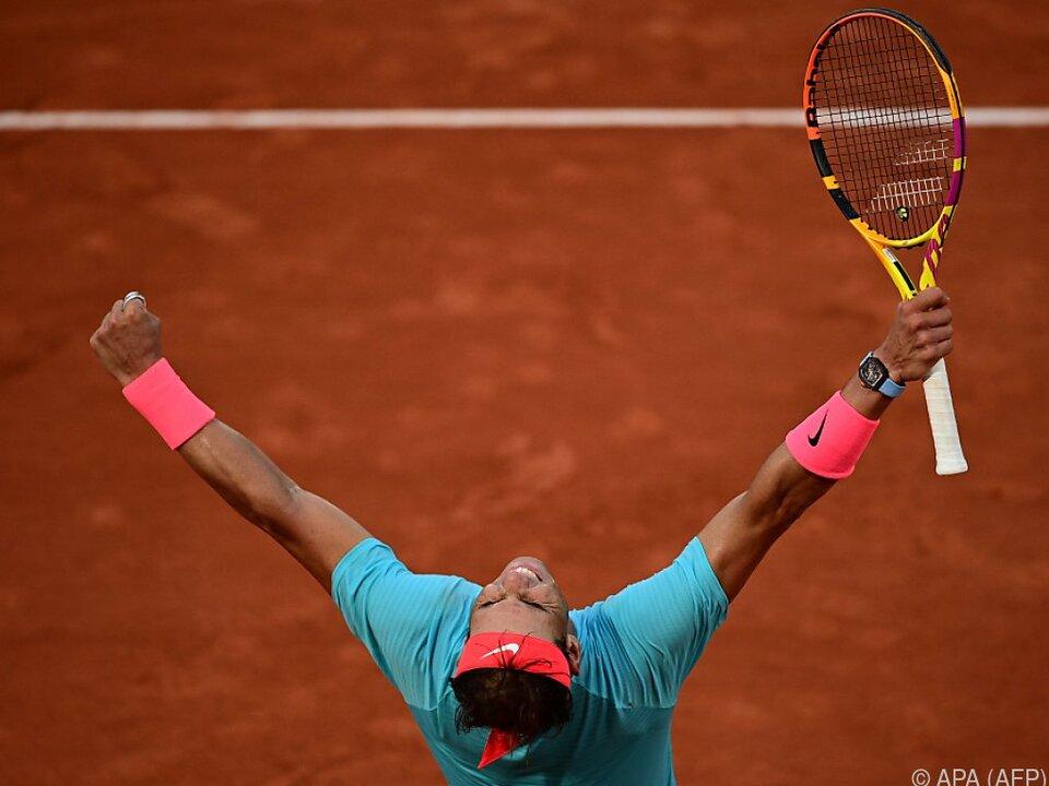 Nadal peilt seinen 13. Paris-Titel an