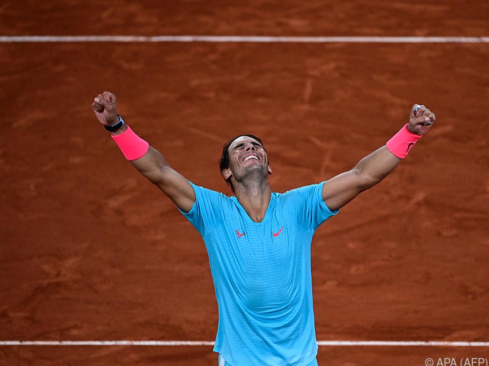 Nadal präsentierte sich in Überform