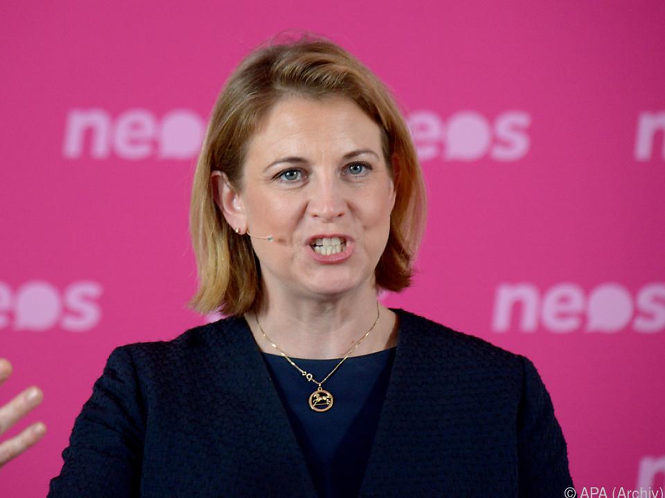 NEOS-Bundesparteivorsitzende Beate Meinl-Reisinger
