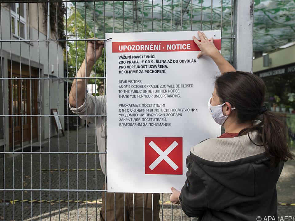Nicht nur der Zoo in Prag musste zusperren