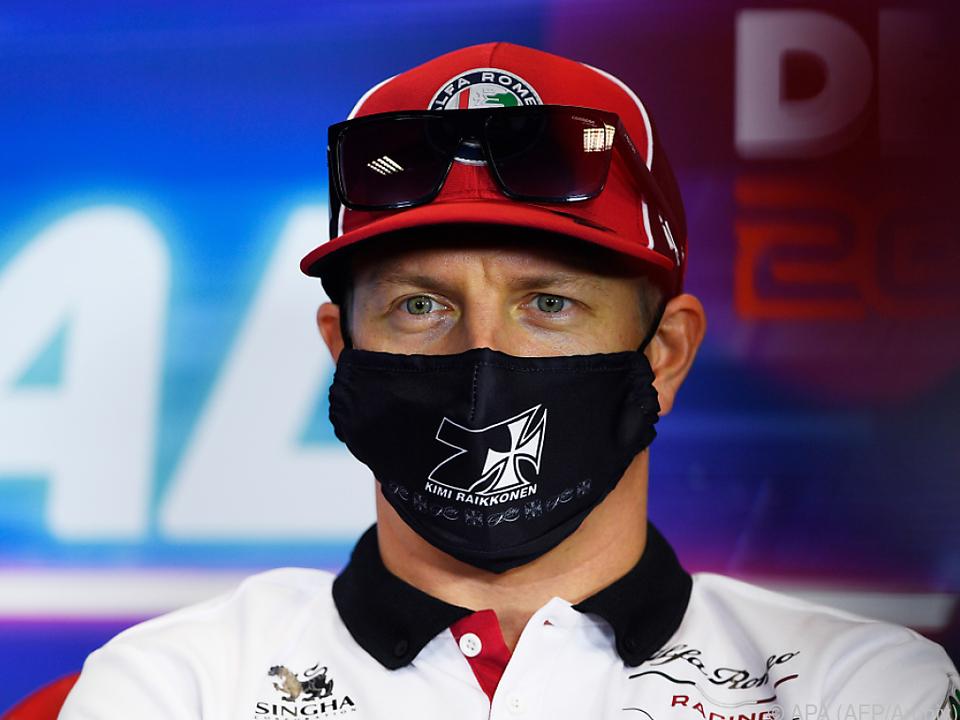 Niemand hat mehr Starts als Räikkönen