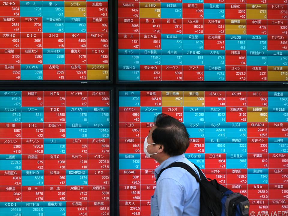 Nikkei-Index um 1,2 Prozent höher