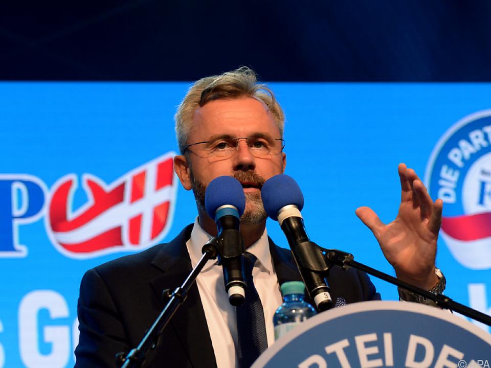 Norbert Hofer verliert seine politische Immunität nicht