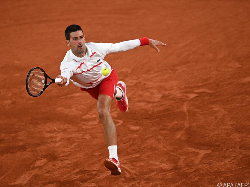 Novak Djokovic hatte mit Elahi Galan keine Probleme