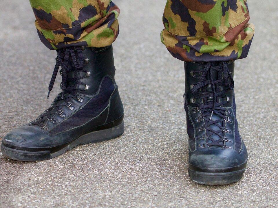 Militär Schuhe
