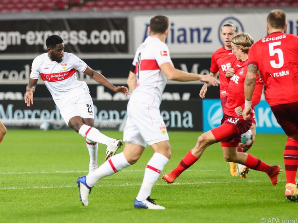 Orel Mangala brachte Stuttgart in Führung