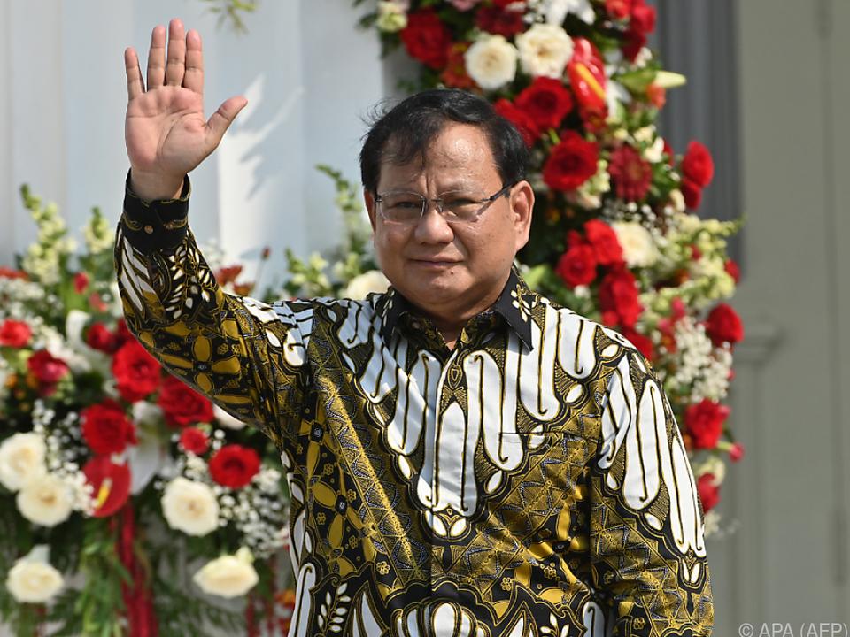Prabowo Subianto strebt einen Eurofighter-Deal an