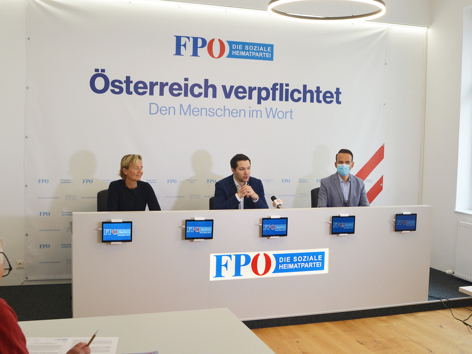 Pressekonferenz stf fpö