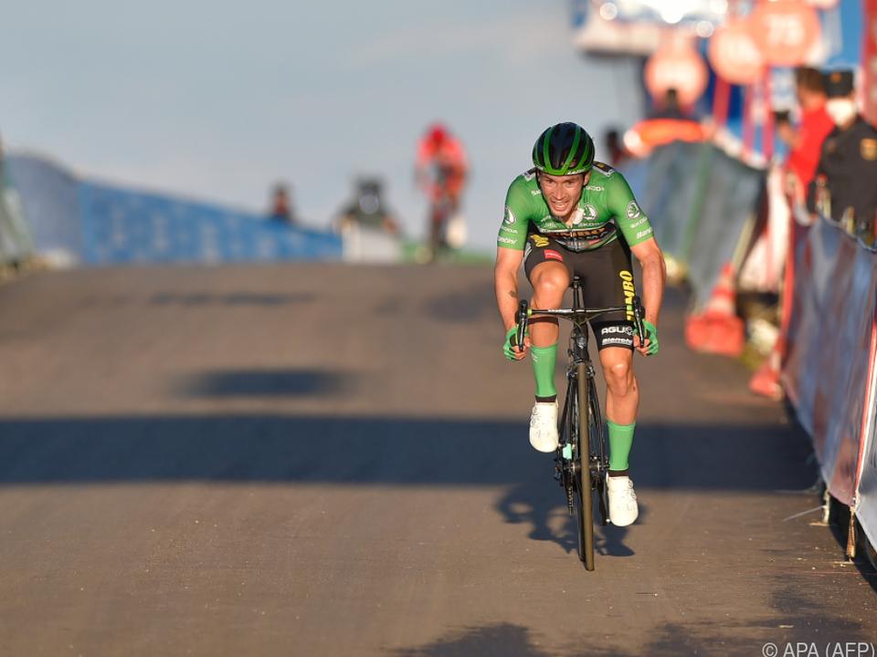 Primoz Roglic weiter in Grün unterwegs