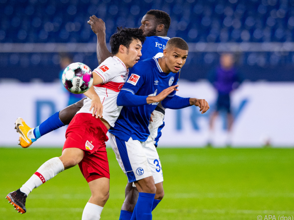 Punkteteilung zwischen Schalke 04 und VfB Stuttgart