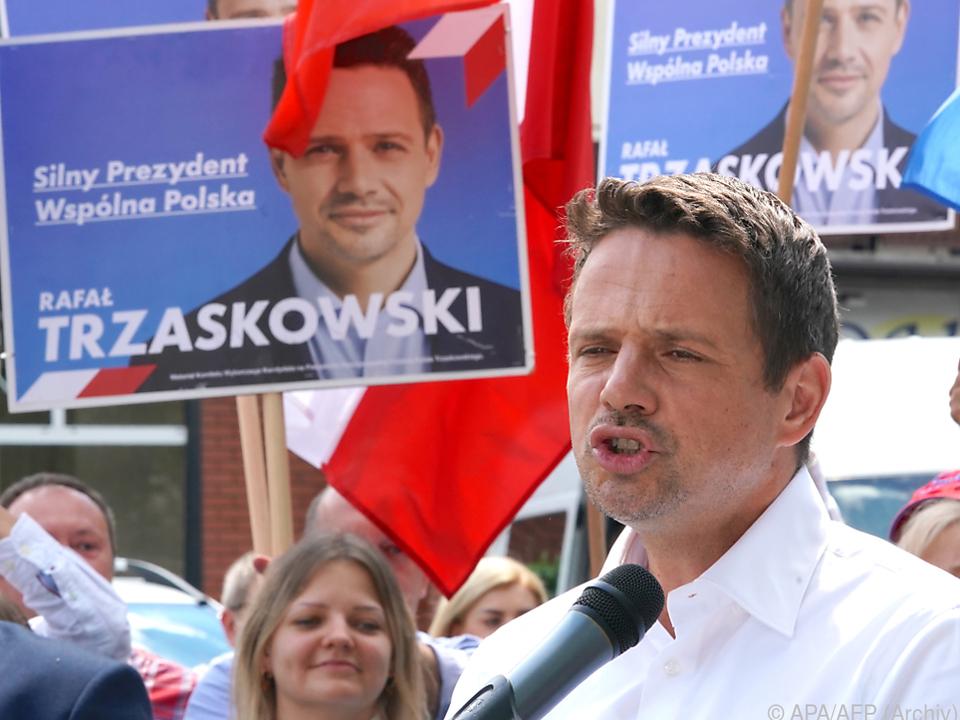 Rafal Trzaskowski brachte PiS schon bei Präsidentenwahl ins Schwitzen