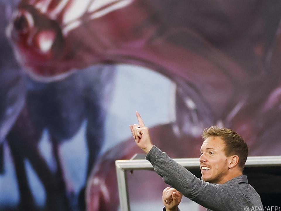 RB-Trainer Julian Nagelsmann muss auf einige Stützen verzichten