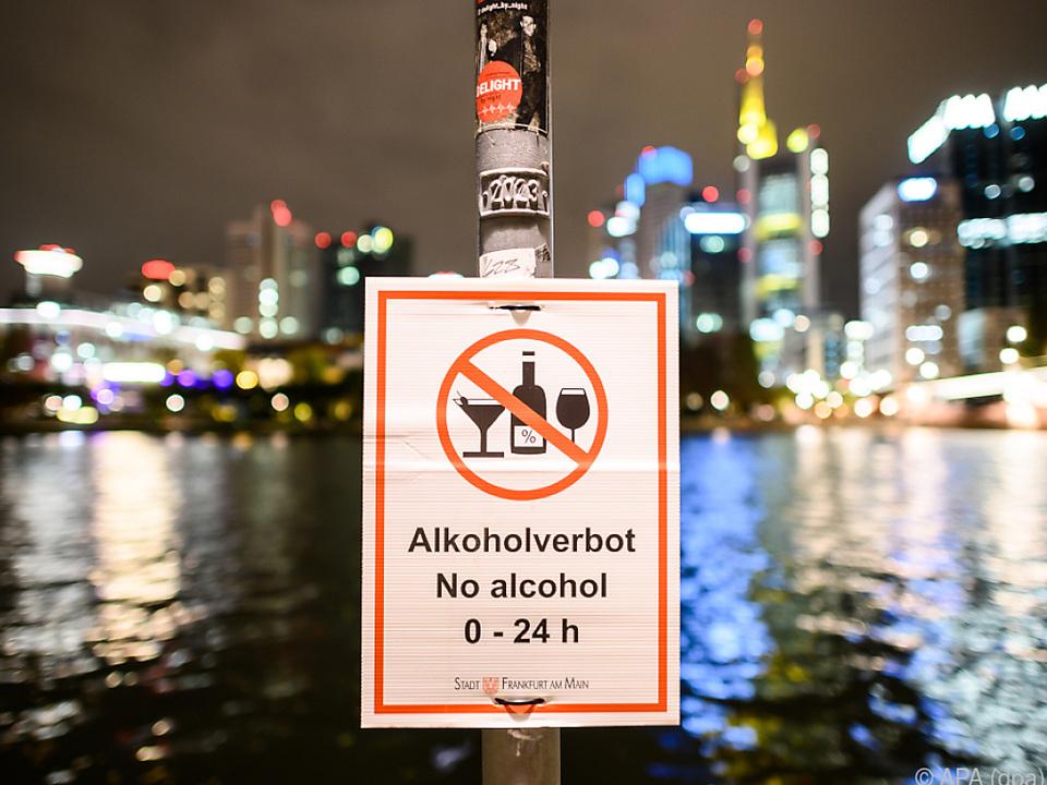 Restriktionen wie diese in Frankfurt stehen an der Tagesordnung