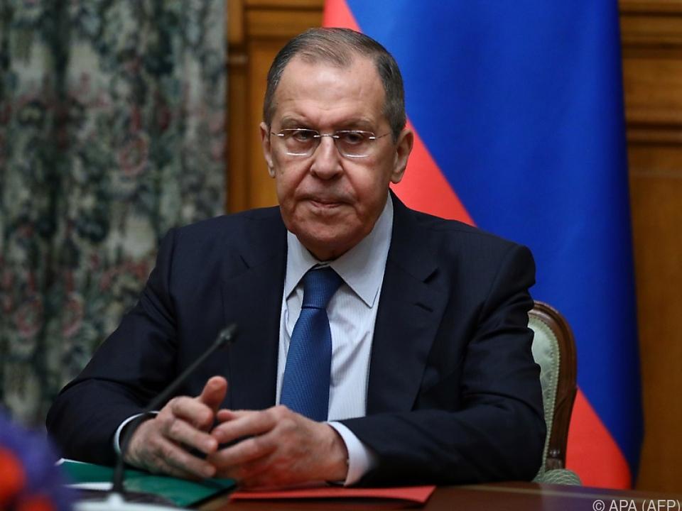 Russlands Außenminister Lawrow hat vermittelt