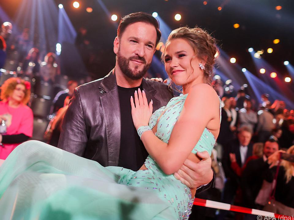 Sänger Michael Wendler und Laura Müller
