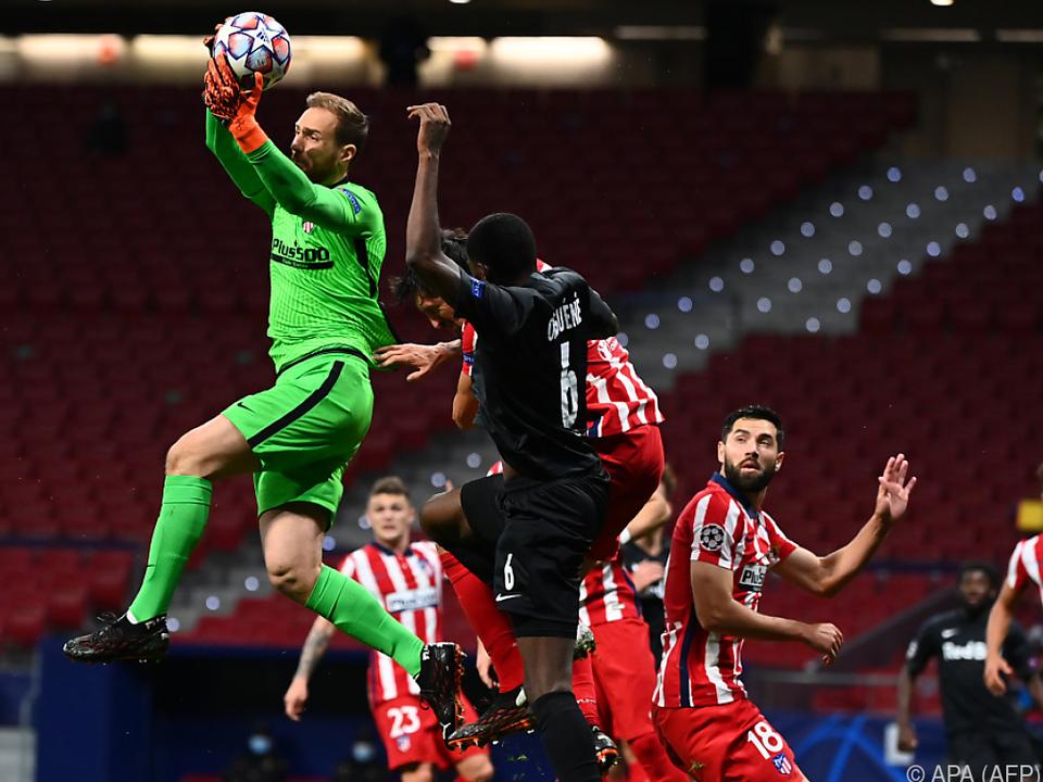 Salzburg machte in der Champions League bei Atletico Madrid gute Figur