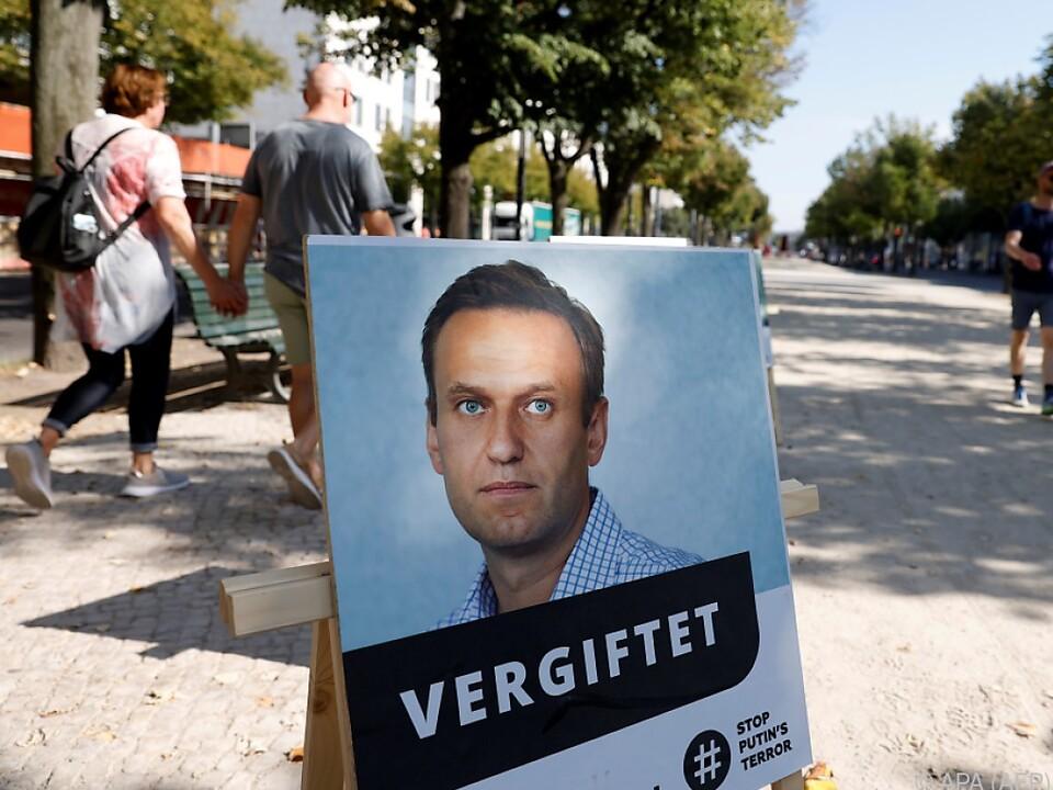 Sanktionen wegen Vergiftung Alexej Nawalnys gefordert
