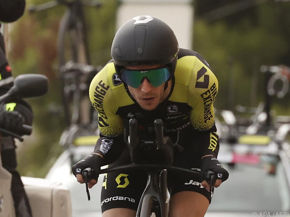 Simon Yates musste den Giro beenden