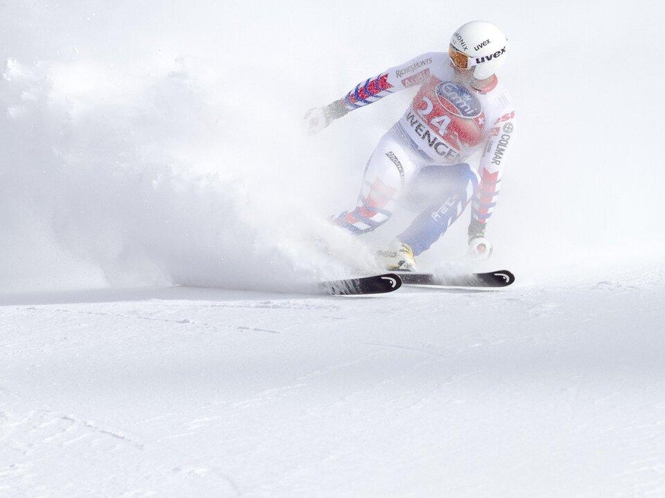 Ski rennen Leer sym