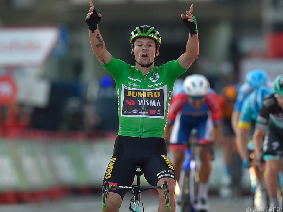 Slowene Roglic holte sich Etappensieg auf der Vuelta