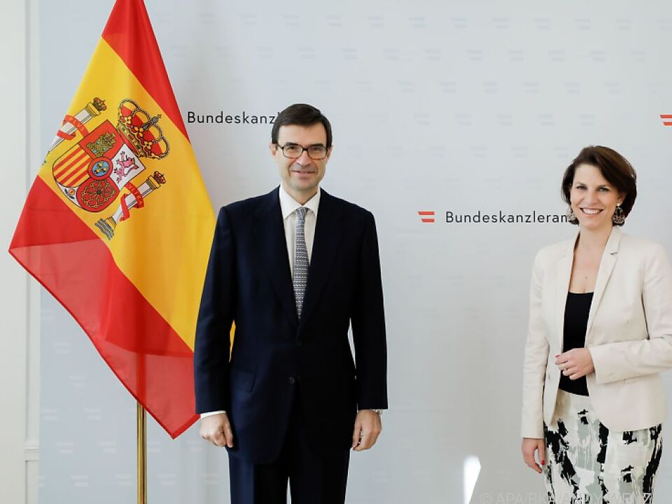Spanischer Besuch in Wien
