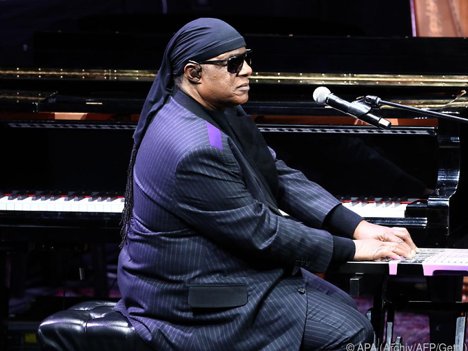 Stevie Wonder spendet Erlös von einen seiner Songs