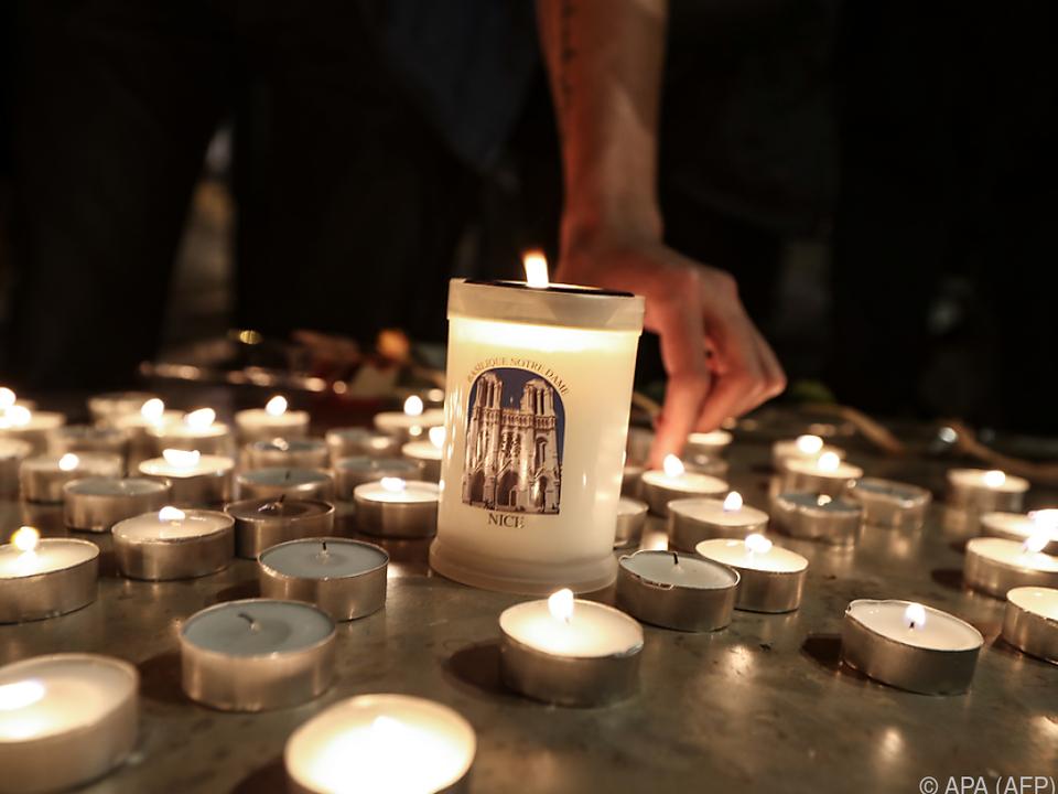 Stilles Gedenken an die Opfer
