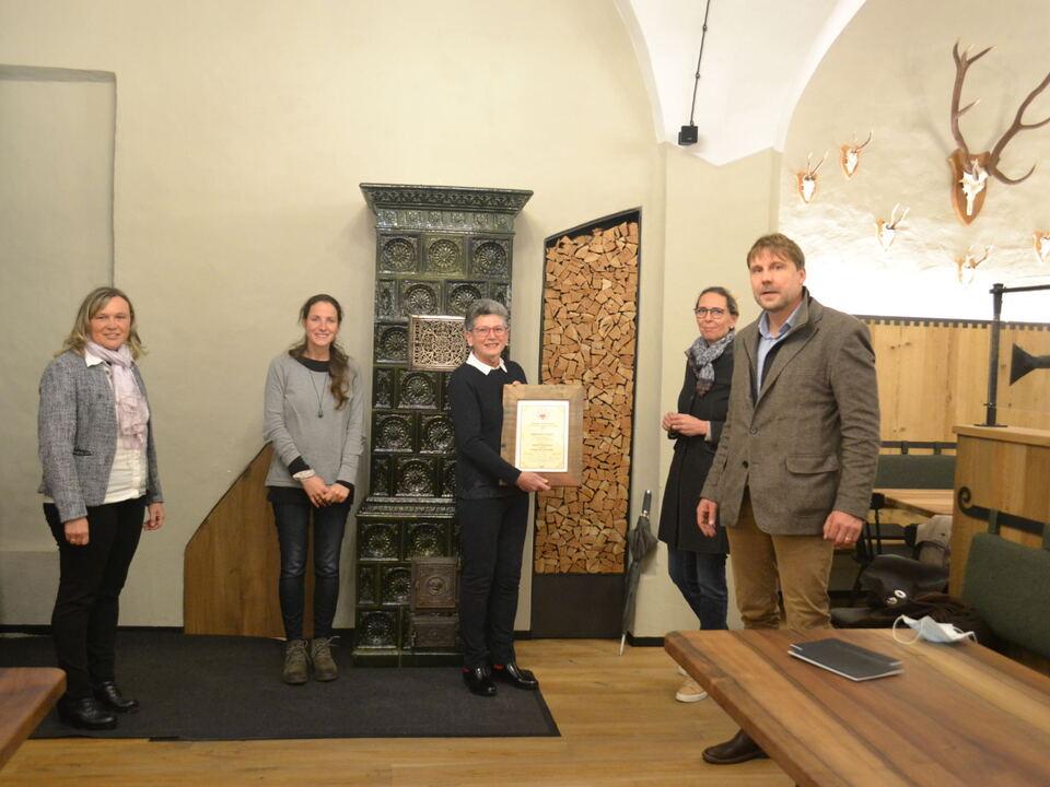 Südtiroler Ernährungspreis für J. Gasser Pellegrini 2