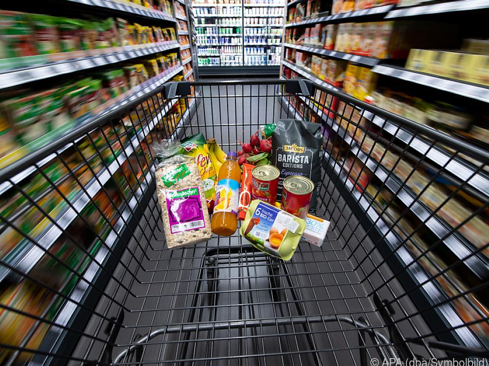 Supermärkte haben für Eventualitäten vorgesorgt