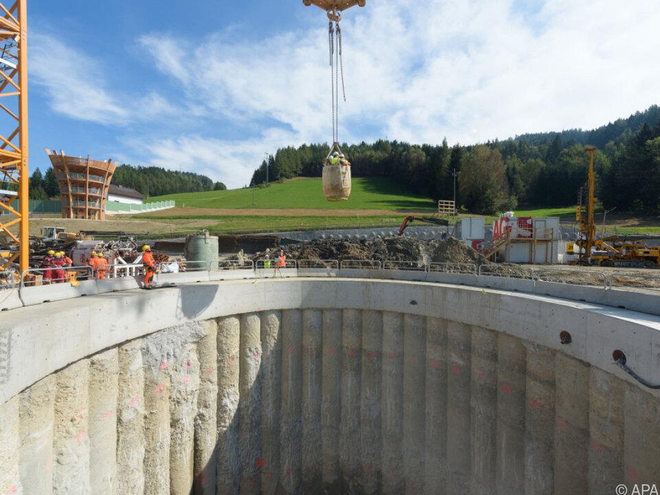 Semmering Basistunnel Teure Baumaterialien sollen gestohlen und verkauft worden sein