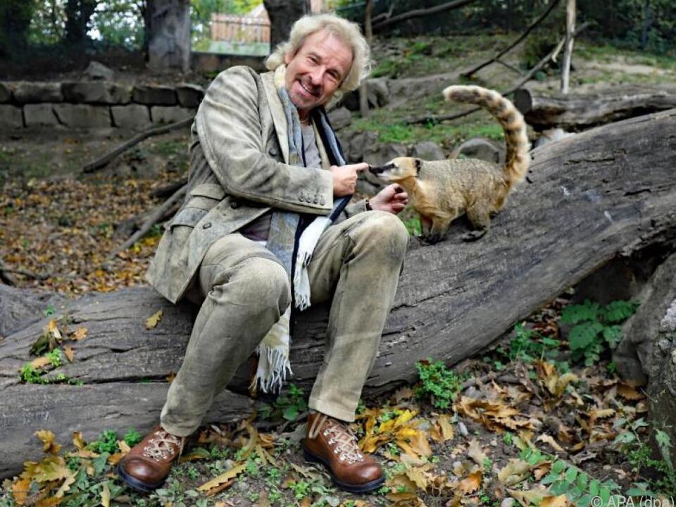 Thomas Gottschalk ist Pate für Nasenbär \