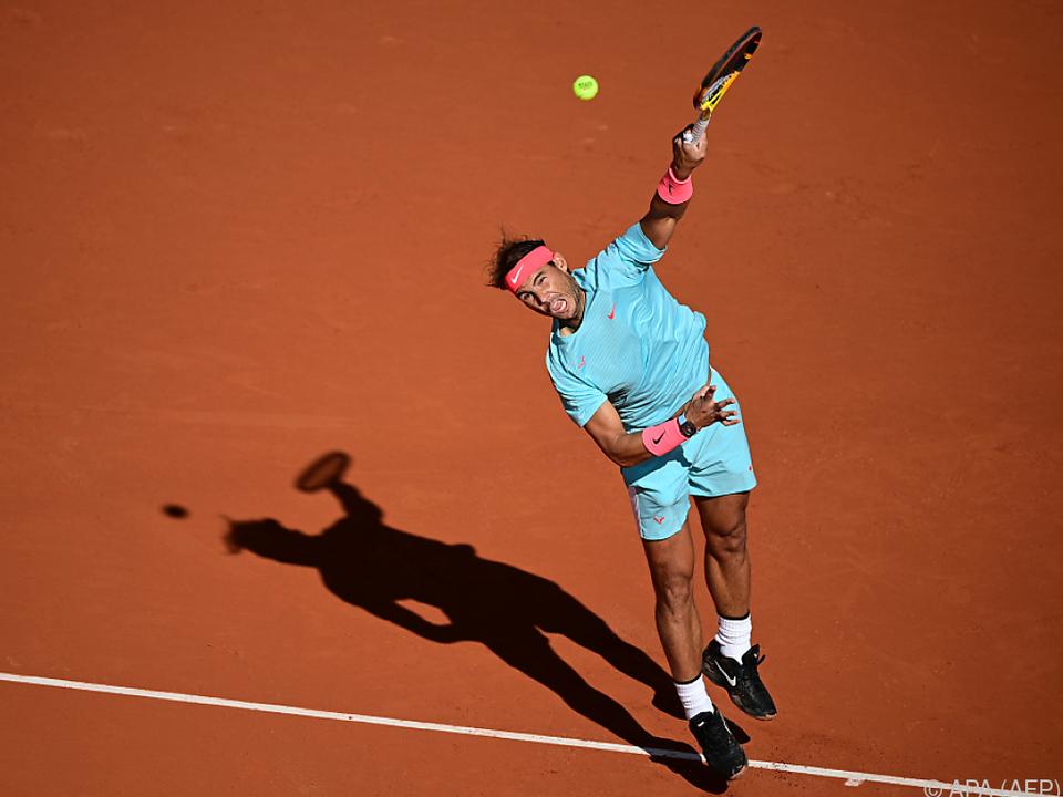 Titelverteidiger Rafael Nadal zeigt bis jetzt keine Schwäche