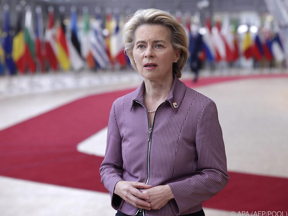 Unter anderem nimmt EU-Kommisionspräsident von der Leyen teil