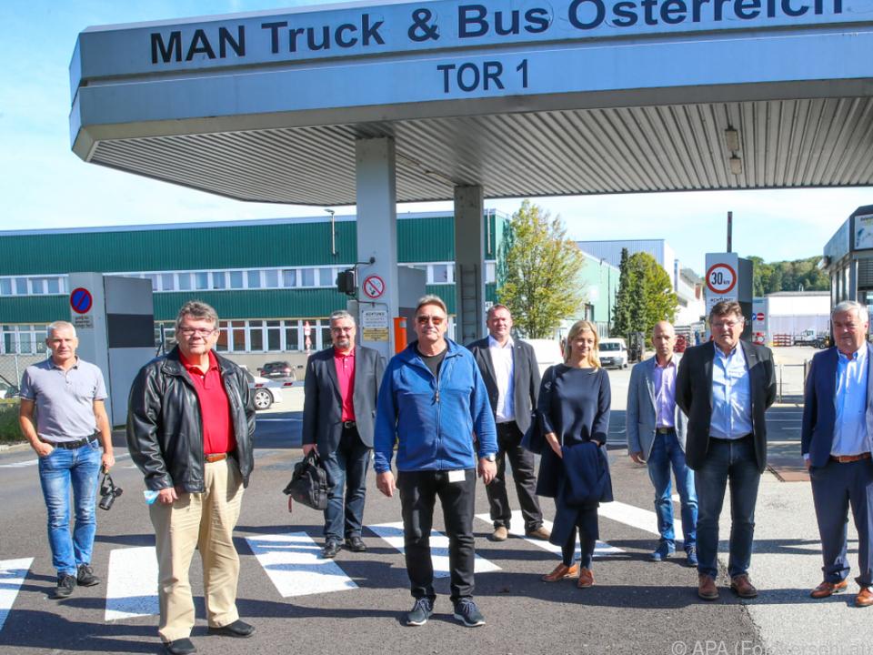 Unterstützung für Belegschaft bei MAN-Steyr