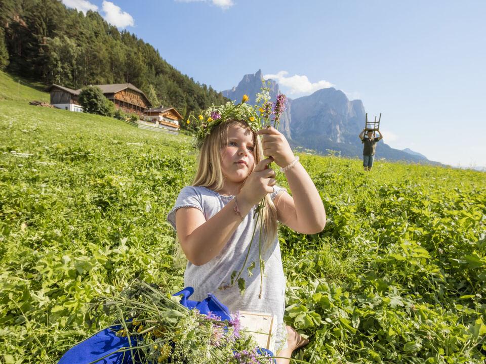 Urlaub auf dem Bauernhof (1) Südtirol, Kastelruth, Unterstamdroa Hof, Titelshooting, UaB_Titel, 2020, 31.Juli.
