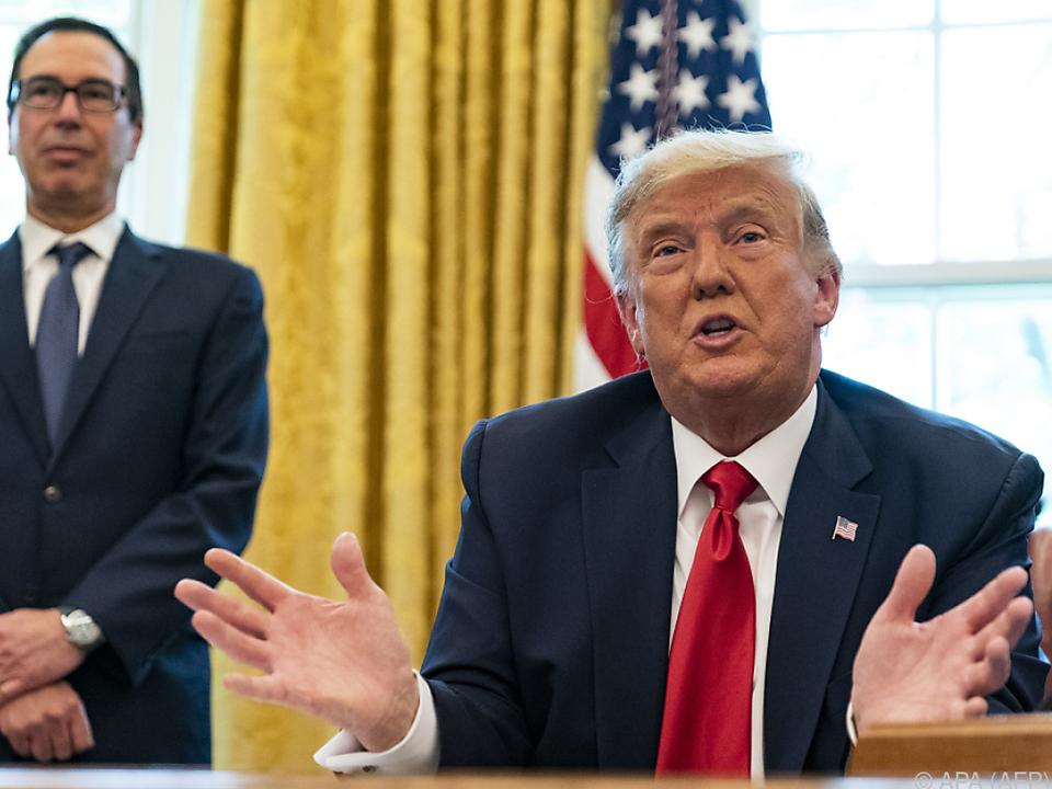 US-Präsident Trump informierte den Kongress