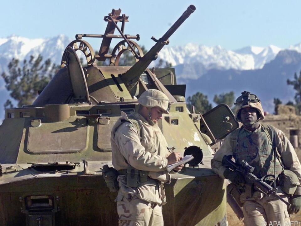 US-Soldaten im Einsatz in Afghanistan