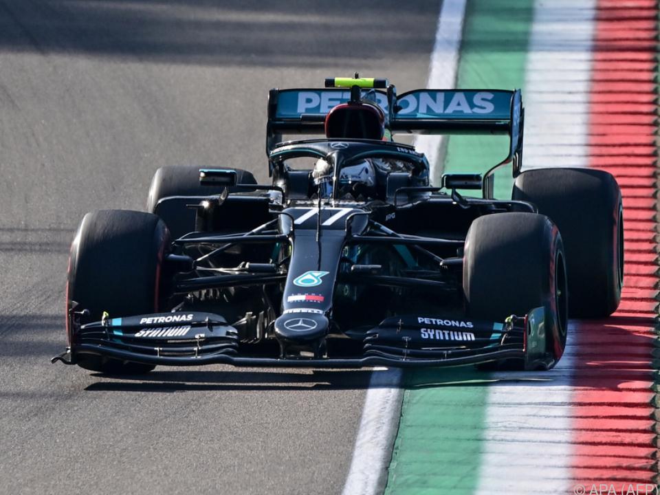 Valtteri Bottas war der Schnellste im Qualifying