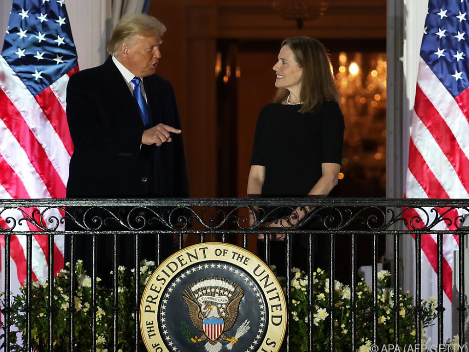 Vereidigungszeremonie im Weißen Haus