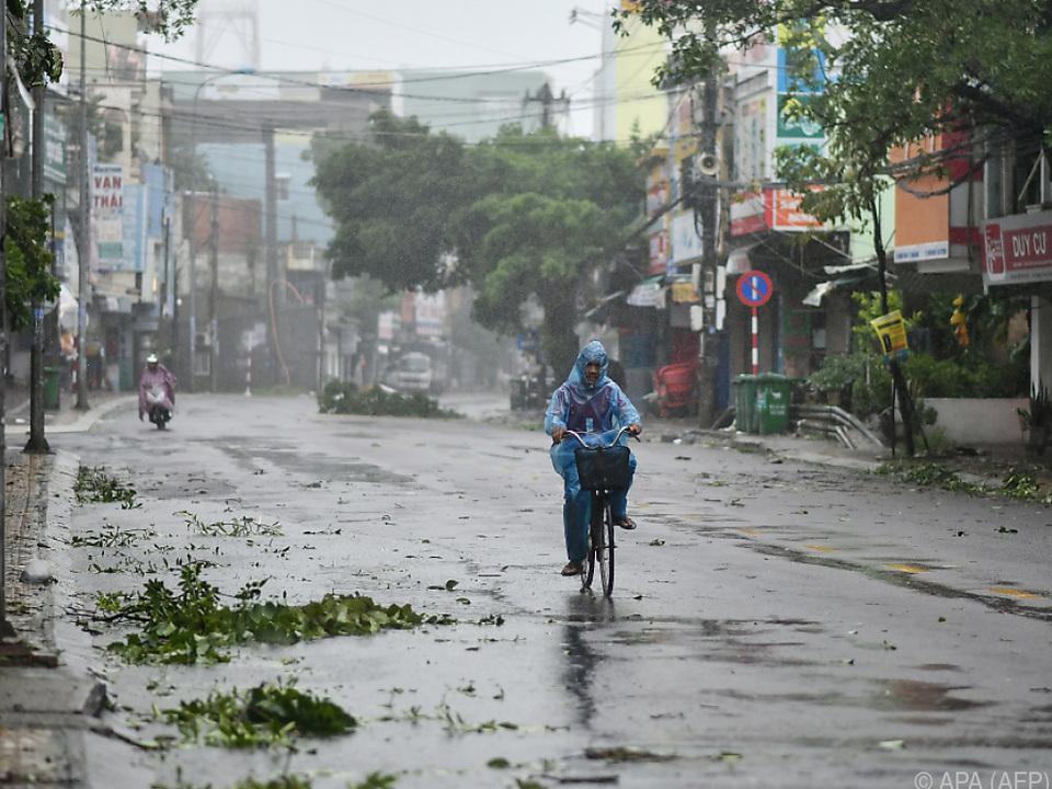Vietnam wird immer wieder von Wirbelstürmen heimgesucht